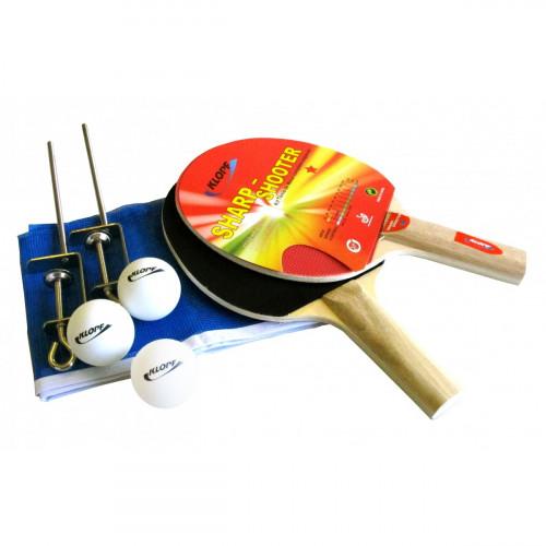 da8497da6 Kit para Ping Pong Tênis Mesa Klopf 5030 - Raquetes Bolinhas Rede ...