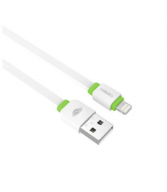 Cabo USB C3TECH CB-110WH Lightning Iphone 2A 1metro Branco