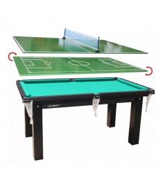 Mesa 4 em 1 Sinuca/Futebol Botão/Ping Pong Procopio - 15mm MDF