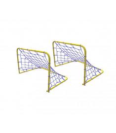 Par Mini Traves Golzinho Futebol Klopf 4008 - Aço Pintado