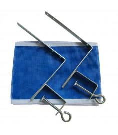 Kit Suporte Rede  Klopf 5070 - De Tênis De Mesa / Ping Pong