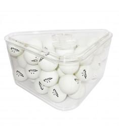 Pote com 36 bolas para ping pong , tenis de mesa , bolinhas BRANCAS, ORIGINAL KLOPF 5080