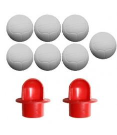 Kit com 2 cachimbos , lançador de bolas para pebolim - Totó